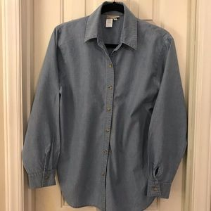 Coldwater Creek Chambray Shirt - Women's Small